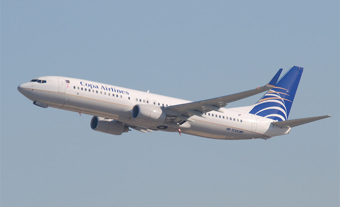 Copa Airlines Boeing 737 800