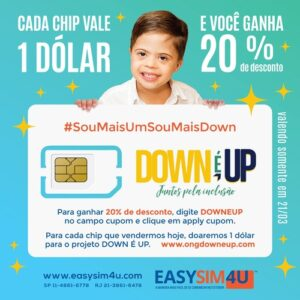 cupom easysim4u down 20 off
