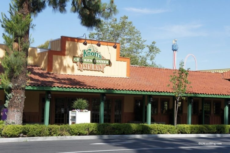 Restaurante Mrs. Knott's snoopy park california