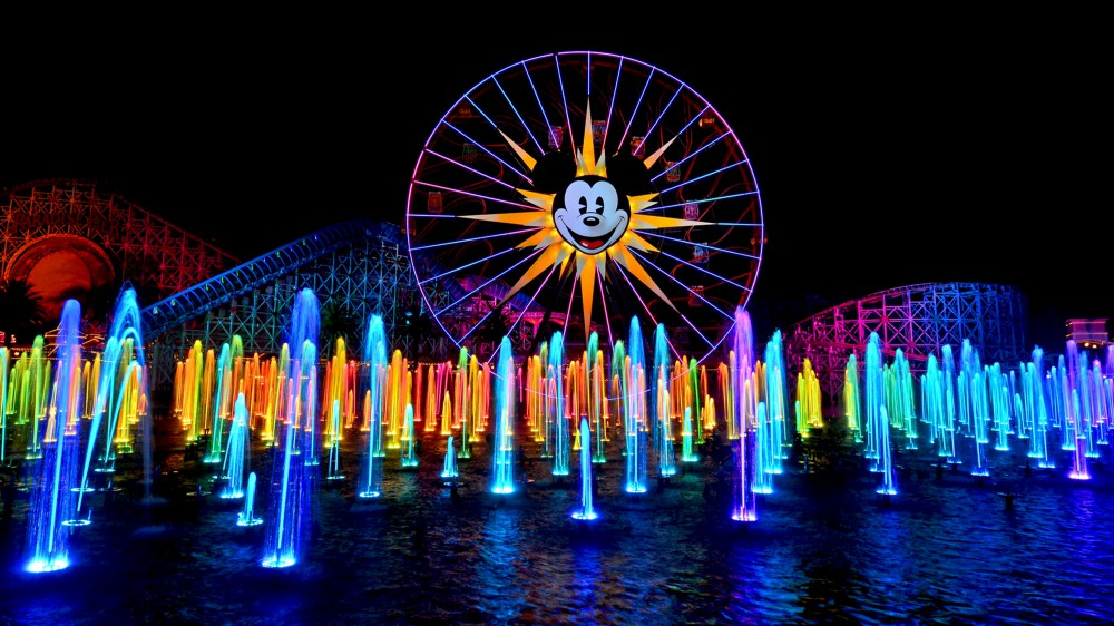 show world of colour na disney california adventure