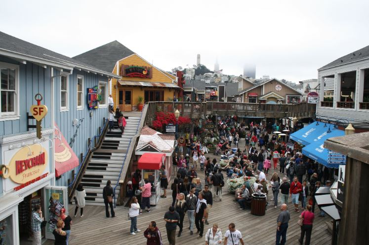 musical stairs pier 39